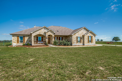 La Vernia TX Single Family Home For Sale: $485,000