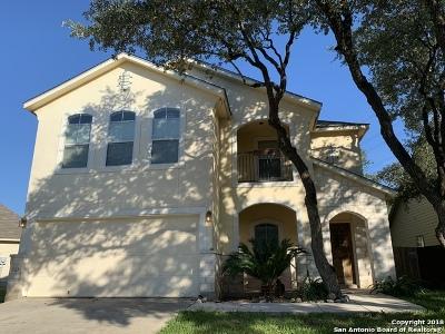 San Antonio Single Family Home Price Change: 21831 Thunder Basin