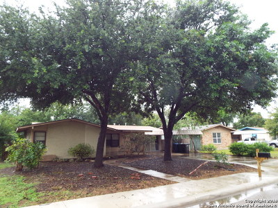 San Antonio Single Family Home New: 218 Middlebury Dr