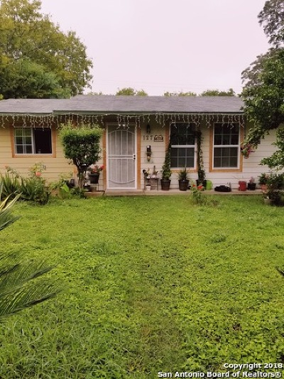 San Antonio Single Family Home New: 127 Sterling Dr