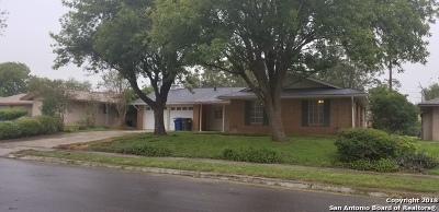 San Antonio Single Family Home New: 4623 Old Coach Ln