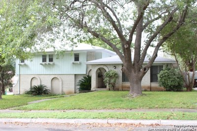 San Antonio Single Family Home New: 7303 Crownpiece