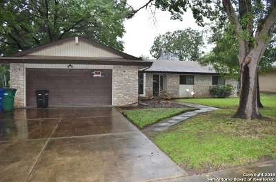 San Antonio Single Family Home Back on Market: 259 Harrow Dr