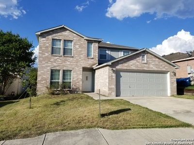 San Antonio Single Family Home Price Change: 1611 Spice Spring
