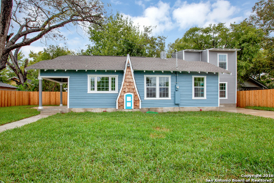 Bexar County Single Family Home For Sale: 1122 Delaware St
