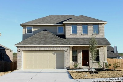 Cibolo Single Family Home New: 605 Saddle House