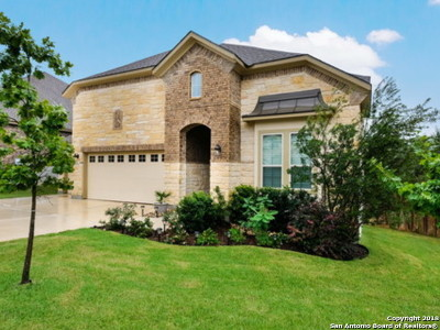 Boerne Single Family Home New: 8714 Versant Bluff