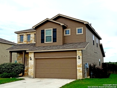 New Braunfels Single Family Home New: 652 Community Dr