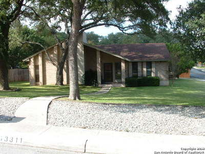 San Antonio Single Family Home New: 13311 Barnsbury Sq