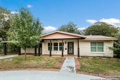 Terrell Hills Single Family Home For Sale: 1153 Garraty Rd