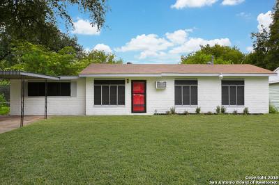 San Antonio Single Family Home New: 349 Leonidas Dr