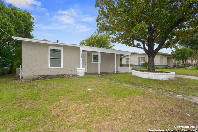 San Antonio Single Family Home New: 106 Willee Dr