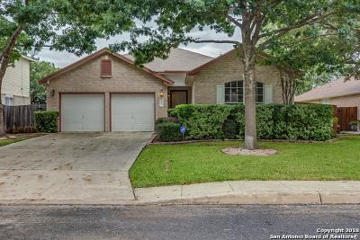 San Antonio Single Family Home New: 11911 Barkston Dr