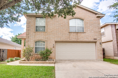 San Antonio Single Family Home New: 9523 Preakness Pass