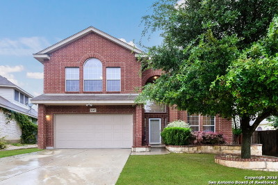 San Antonio Single Family Home New: 12407 Painted Daisy