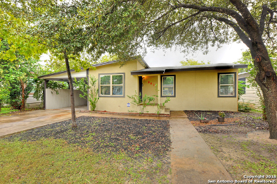 San Antonio Single Family Home New: 907 La Manda Blvd