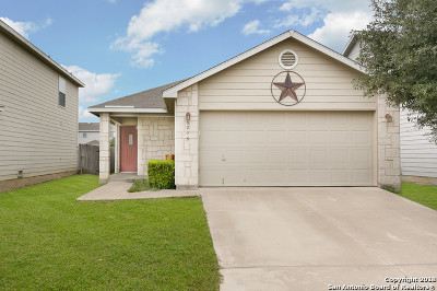San Antonio Single Family Home New: 9215 Silver Dollar