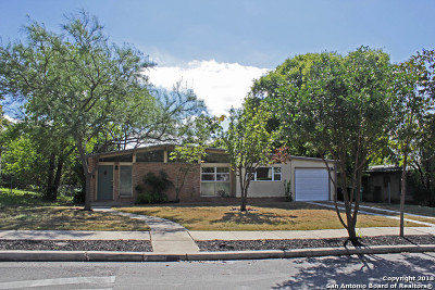 San Antonio Single Family Home New: 322 Millwood Ln