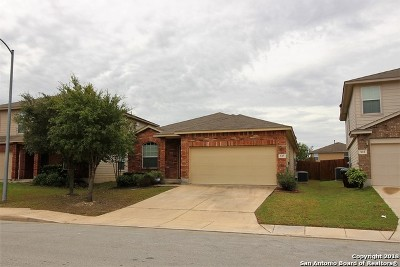 San Antonio Single Family Home New: 527 Red Quill Nest