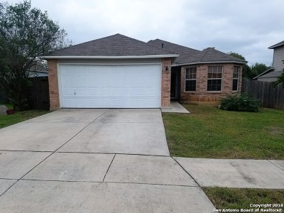 Converse Single Family Home New: 8539 Lone Shadow Trail