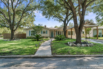 San Antonio Single Family Home New: 158 Brees Blvd