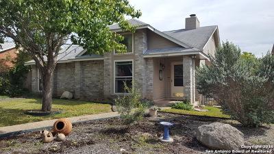 San Antonio Single Family Home New: 13822 Winding Hill