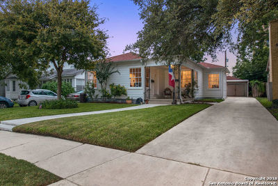 Bexar County Single Family Home Price Change: 123 Allensworth St