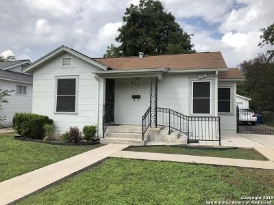 San Antonio Single Family Home New: 227 Ellana Claire St