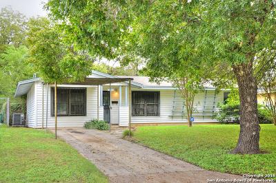 San Antonio Single Family Home New: 307 Astoria Dr