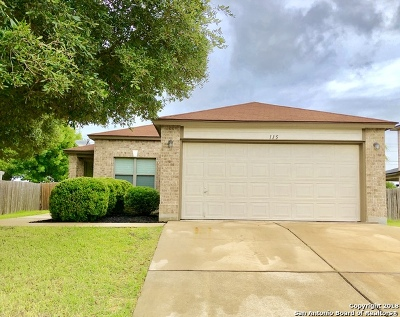 San Marcos Single Family Home Active Option: 115 Teron Dr