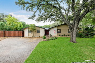 Helotes Single Family Home For Sale: 12910 Diamond K Trail