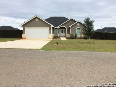 Frio County Single Family Home For Sale: 125 Blue Bonnet Hill St