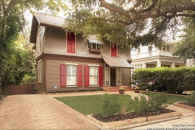 San Antonio Single Family Home For Sale: 318 W Mistletoe Ave