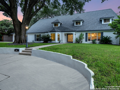 Terrell Hills Single Family Home For Sale: 907 Eventide Dr