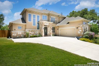 San Antonio Single Family Home Price Change: 26002 Tivoli Mdw
