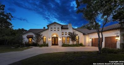 Boerne Single Family Home For Sale: 1838 Clubs Drive
