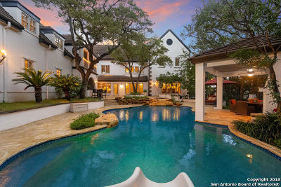 San Antonio TX Single Family Home Back on Market: $1,125,000