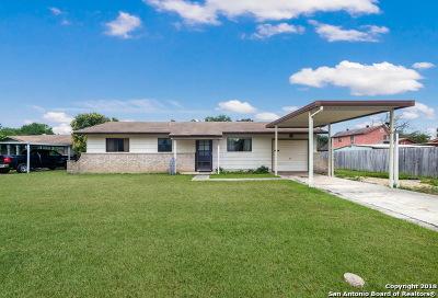 Schertz Single Family Home Active Option: 106 Pentonville Dr