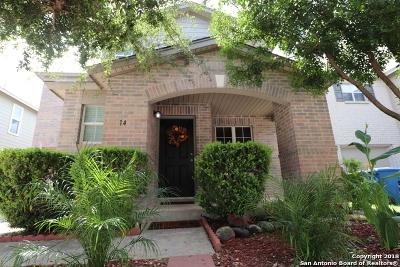 San Antonio Single Family Home Active Option: 14 Moondance Hill