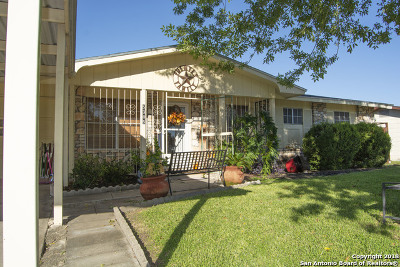 Bexar County Single Family Home For Sale: 5305 Wheatland St