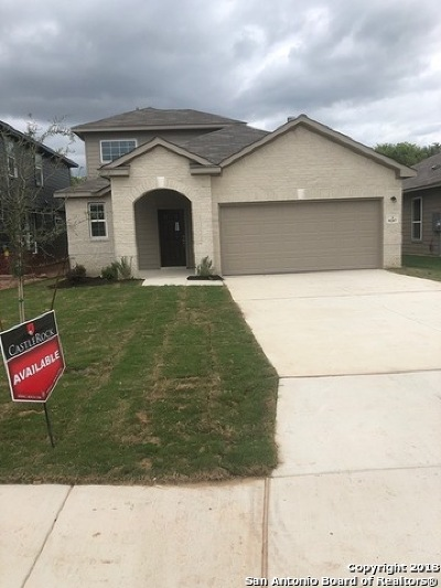Selma Single Family Home Price Change: 8207 Breezy Cove