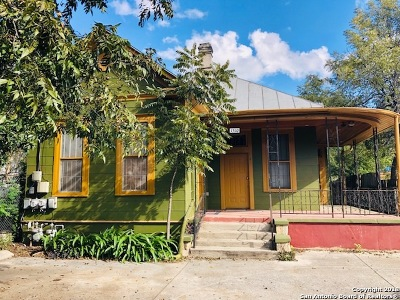 San Antonio Single Family Home Active Option: 1510 Camaron St