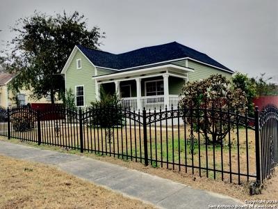Single Family Home Price Change: 1102 E Crockett St