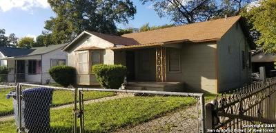 San Antonio Single Family Home Active Option: 1813 Sacramento