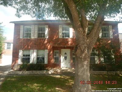 San Antonio Single Family Home Active Option: 15446 Corian Creek Dr