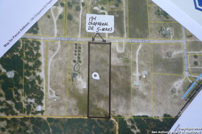 Floresville Residential Lots & Land For Sale: 134 Chaparral Dr