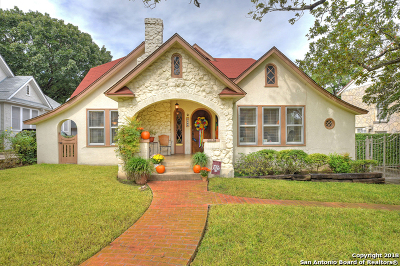 Olmos Park Single Family Home Price Change: 225 Belvidere Dr