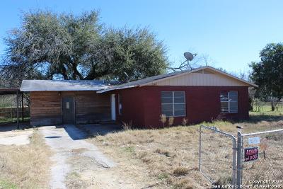 Atascosa County Single Family Home For Sale: 18422 Fm 2790