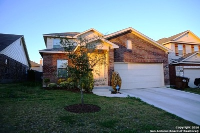 Converse Single Family Home For Sale: 8835 Hays Parc Rd