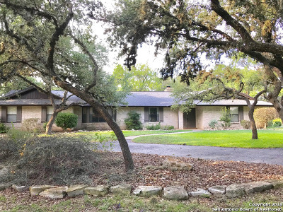 Boerne Single Family Home Price Change: 9561 Fawn Dr